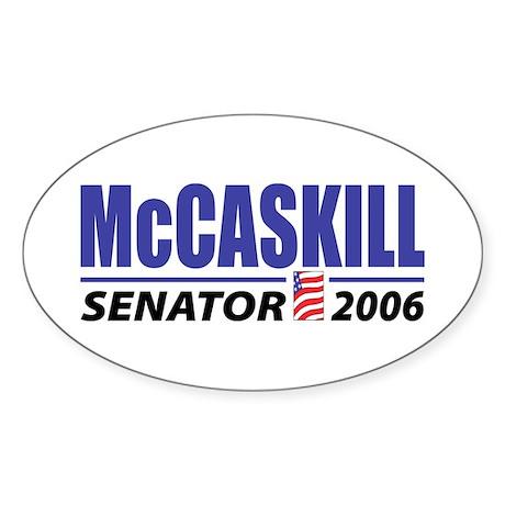 McCaskill 2006 Oval Sticker