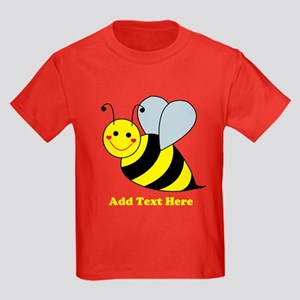 Cute Bumble Bee Kids Dark T-Shirt