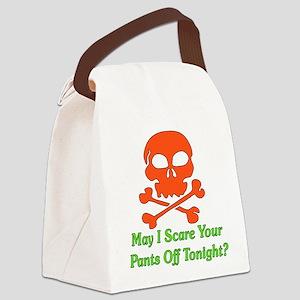 scarepants01 Canvas Lunch Bag