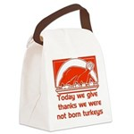 thanksgiving_prayer01 Canvas Lunch Bag