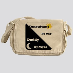 Consultant by day Daddy by night Messenger Bag