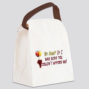 fine_wine01 Canvas Lunch Bag