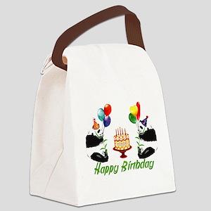 birthday_pandas01 Canvas Lunch Bag