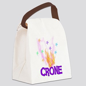 crone01 Canvas Lunch Bag