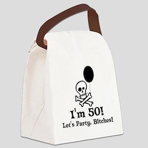 50th_birthday03 Canvas Lunch Bag