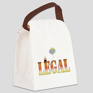 legal01 Canvas Lunch Bag