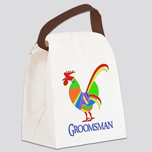 2-groomsman01 Canvas Lunch Bag