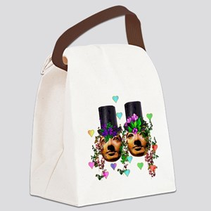 gay_marriage04 Canvas Lunch Bag