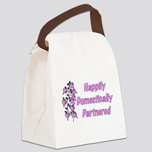domestic_partner02 Canvas Lunch Bag
