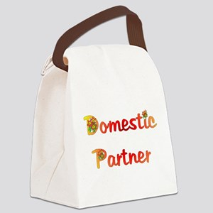 domestic_partner03 Canvas Lunch Bag