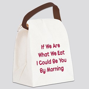 eat_me01a Canvas Lunch Bag