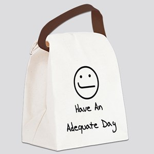 humor_adequate01 Canvas Lunch Bag