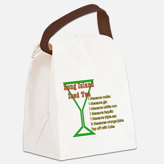longisland01.png Canvas Lunch Bag