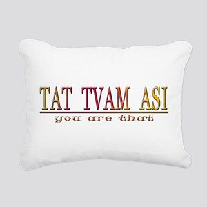 TAT TVAM ASI Rectangular Canvas Pillow