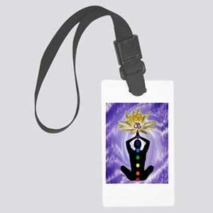 Chakra Awakening Large Luggage Tag