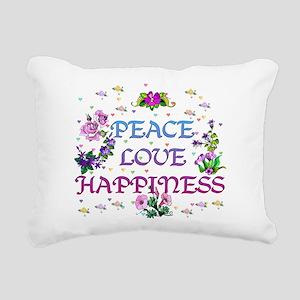 happiness01 Rectangular Canvas Pillow