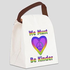 kinder01 Canvas Lunch Bag