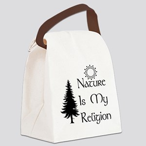 nature01 Canvas Lunch Bag