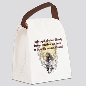 winter01 Canvas Lunch Bag