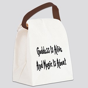 goddessmagic01x Canvas Lunch Bag