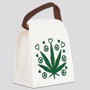 weed01 Canvas Lunch Bag