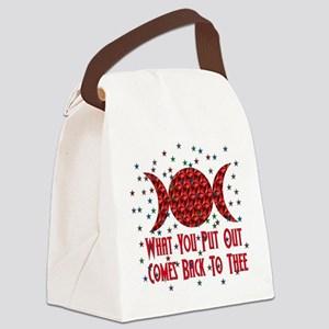 wiccan_saying01 Canvas Lunch Bag