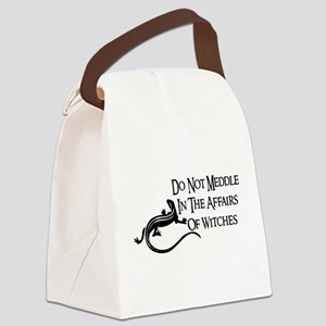 witch_meddling01 Canvas Lunch Bag