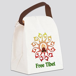 free_tibet01 Canvas Lunch Bag