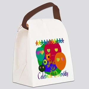 diversity01 Canvas Lunch Bag