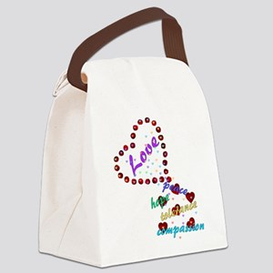 lovemore03x Canvas Lunch Bag