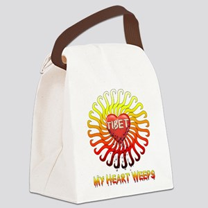 free_tibet02 Canvas Lunch Bag