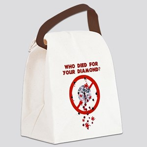 conflictdiamond01 Canvas Lunch Bag