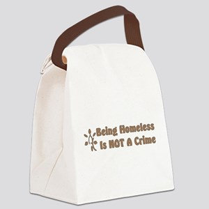 homeless01 Canvas Lunch Bag