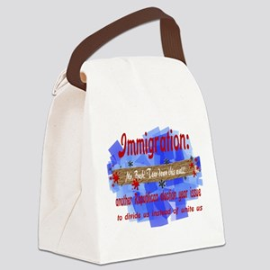 alienwall0111 Canvas Lunch Bag