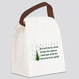 ecology011 Canvas Lunch Bag