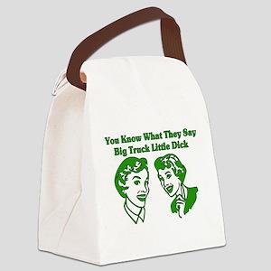 bigtruck01 Canvas Lunch Bag