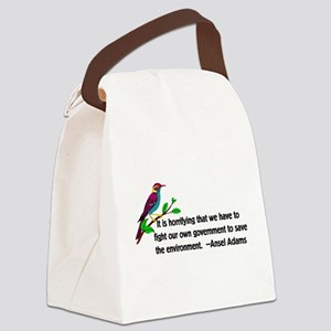 3-environment01 Canvas Lunch Bag