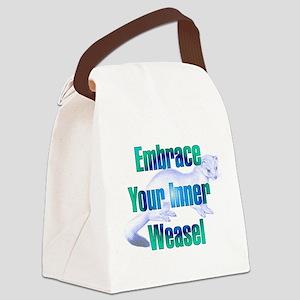 innerweasel01 Canvas Lunch Bag