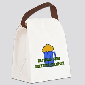 beer01 Canvas Lunch Bag