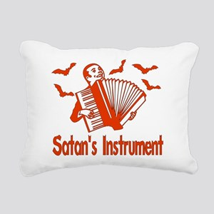 accordion01 Rectangular Canvas Pillow