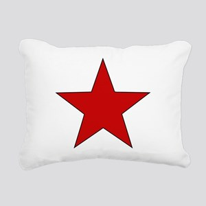 redstar01 Rectangular Canvas Pillow