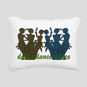 dance01 Rectangular Canvas Pillow
