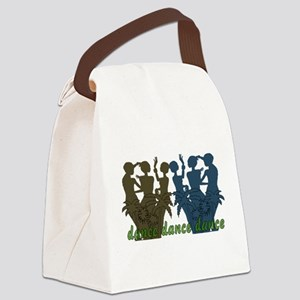 dance01 Canvas Lunch Bag