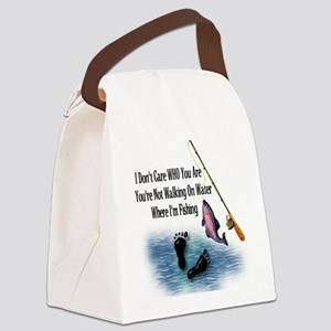 fishing01 Canvas Lunch Bag