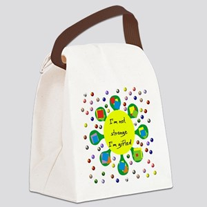 saying03 Canvas Lunch Bag