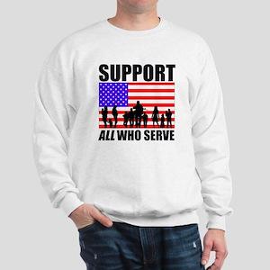 Support All Sweatshirt