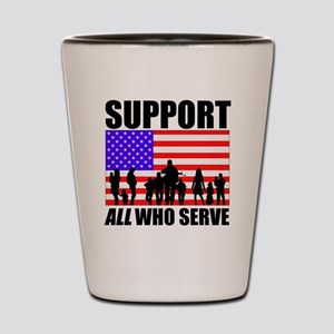 Support All Shot Glass
