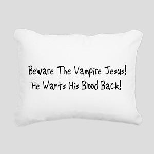 vampire01 Rectangular Canvas Pillow