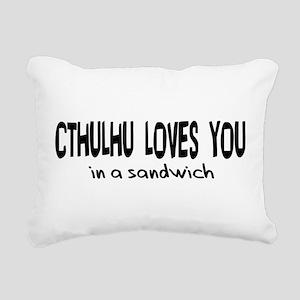 cthulhu01b Rectangular Canvas Pillow