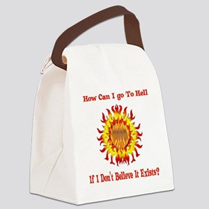 hell011 Canvas Lunch Bag